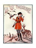 1920s France La Vie Parisienne Magazine Cover Lámina giclée