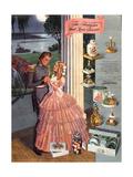 1930s USA Old South Magazine Advertisement Giclée-Druck