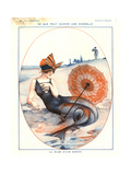 1920s France La Vie Parisienne Magazine Plate ジクレープリント