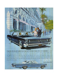 1960s USA Pontiac Grand Prix Magazine Advertisement Giclée-Druck