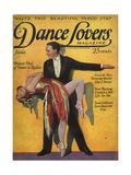 1920s USA Dance Lovers Magazine Cover Gicléedruk