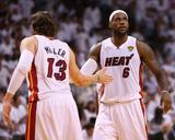 Miami, FL - June 20: LeBron James and Mike Miller Foto af Mike Ehrmann