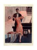 1920s France La Vie Parisienne Magazine Plate Lámina giclée
