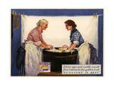 1920s UK Sunlight Soap Magazine Advertisement ジクレープリント