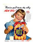 1950s USA Ritz Magazine Advertisement Gicléedruk