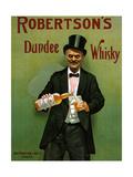 1900s UK Robertson's Poster Reproduction procédé giclée