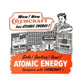 1950s USA The Porter Chemical Company Magazine Advertisement Giclée-tryk