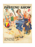 1930s UK The Passing Show Magazine Cover ジクレープリント