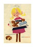 1960s UK Cadbury's Magazine Advertisement Giclée-Druck