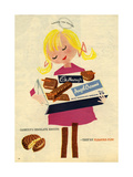 1960s UK Cadbury's Magazine Advertisement Giclée-vedos