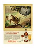 1940s USA Imperial Magazine Advertisement Reproduction procédé giclée