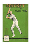1920s UK Cricket Book Cover Giclee-trykk