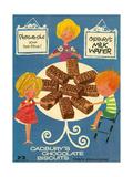 1960s UK Cadbury's Magazine Advertisement Giclee Print