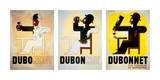 Dubonnet Plakater av Adolphe Mouron Cassandre