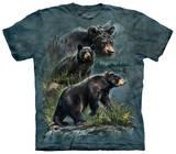 Three Black Bear T-Shirt