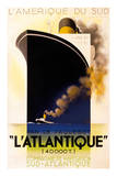 L'Atlantique 1931 高品質プリント : アドルフ・ムーロン・カッサンドレ
