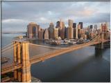 Pont de Brooklyn, New York Photographie encadrée par Cameron Davidson