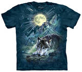 Wolf Night Symphony T-skjorte
