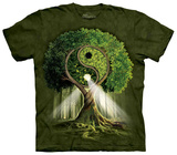Yin Yang Tree Skjorter