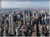 Gratte-ciels de Manhattan Photographie encadrée par Cameron Davidson