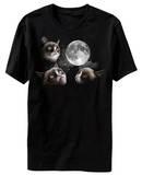 Grumpy Cat - Moon Shirt