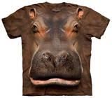 Hippo Head T-shirts