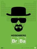 Heisenberg Poster Stampe di  NaxArt