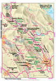 Michelin Official Napa and Sonoma Valley Map Art Print Poster Poster