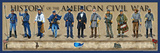 History of the American Civil War Poster