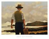 The Drifter Poster van Vettriano, Jack