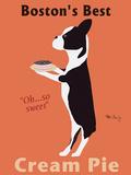 Boston's Best Cream Pie Poster von Ken Bailey