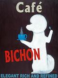 Café Bichon Posters por Ken Bailey