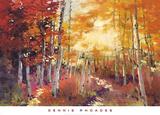 Golden Sunlight Print by Dennis Rhoades