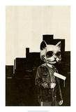Roller Cat Posters van Hidden Moves