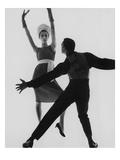 Vogue - February 1961 Premium fotoprint van Bert Stern