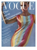 Vogue - July 1961 Premium fotoprint van Bert Stern