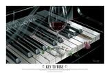The Key to Wine Posters tekijänä Michael Godard