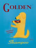 Golden Shampoo Pôsters por Ken Bailey