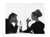 Vogue - April 1962 Fotografisk tryk af Bert Stern