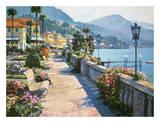 Bellagio Promenade Plakater av Howard Behrens