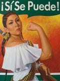 Rosita (¡Sí Se Puede!) Posters por Robert Valadez