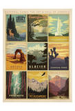 National Parks: The Art & Soul Of America Poster von  Anderson Design Group