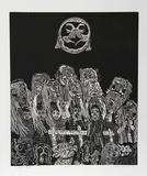 Night Festival (Black) Limitierte Auflage von Manuel Izqueirdo