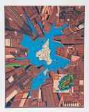 City 378 Limited Edition by Risaburo Kimura
