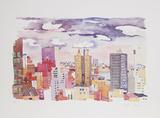 New York Landscape 4 Rajoitettu erä tekijänä Jacqueline Fogel