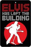 Elvis Left Tin Sign Blikkskilt