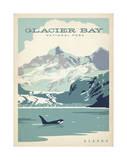 Parco nazionale di Glacier Bay, Alaska Poster di  Anderson Design Group