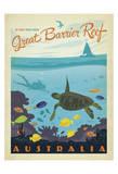 Great Barrier Reef, Australia Poster par  Anderson Design Group