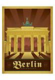 Berlin, Allemagne Affiches par  Anderson Design Group