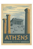 Athens, Greece Posters by  Anderson Design Group